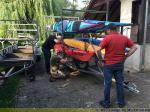 Boote Verladen in Lemgo